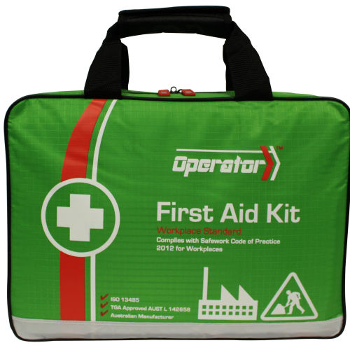 Workplace First Aid Kit (Low Risk 1-50 persons or High Risk 1-25 persons)