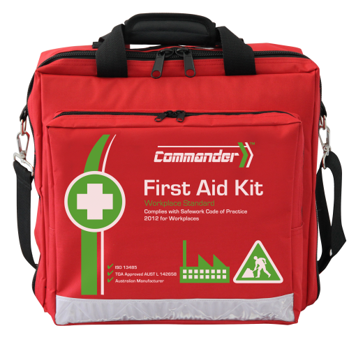 Workplace First Aid Kit (Low Risk 1-100 persons or High Risk 1-50 persons)