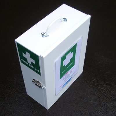 First Aid Kits - Plastic or Metal Containers