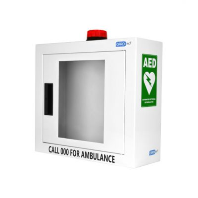 AED alarmed cabinet