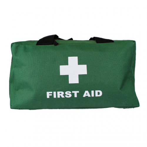 Green Softpack First Aid Bag