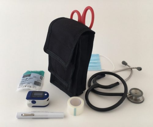 New stethoscope pouch