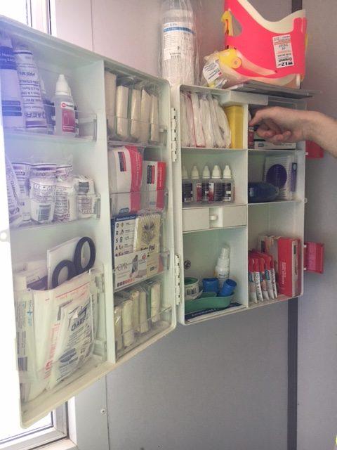 restocking first aid kits