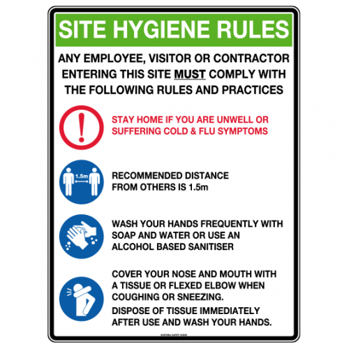 Site Hygiene Rules